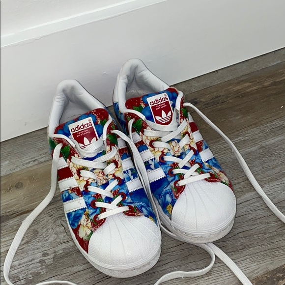 adidas Shoes | Adidas Floral Sneakers